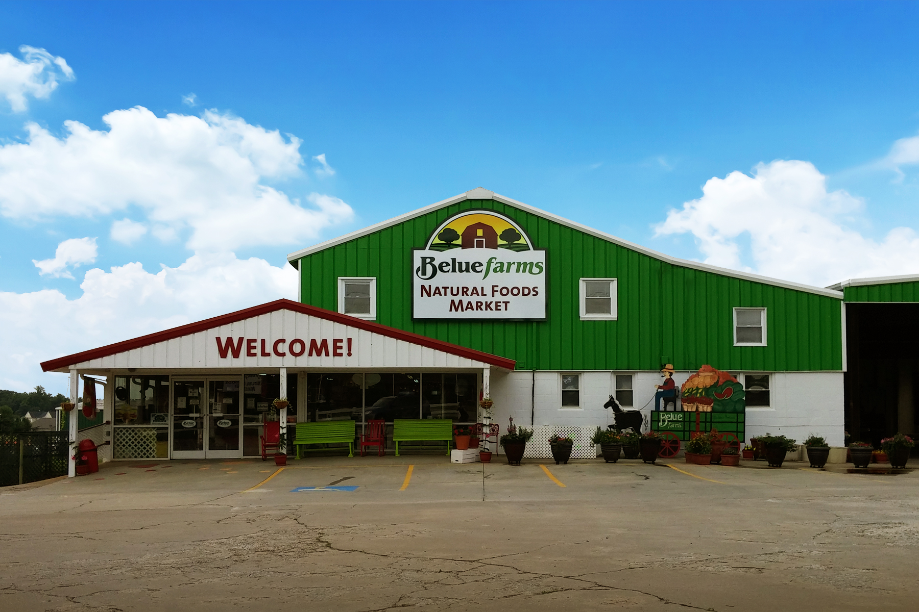 Belue Farms Natural Market - Gallery