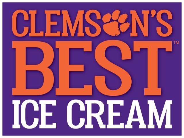 Clemson's Best Ice Cream & Clemson Blue Cheese